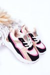 Children's Sport Shoes Sneakers Neon Pink Game Time