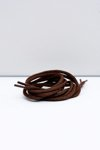 Corbby Brown Round Shoelaces