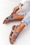 Leather Sandals Maciejka 05167-10 Dark Beige