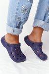 Women's Slides Foam Navy Blue Crocs EVA