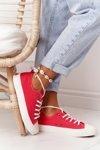 Women's Sneakers BIG STAR FF274185 Red